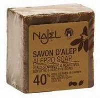 Najel 40%月桂油 敍利亞阿勒頗手工古皂 Aleppo Soap 185g